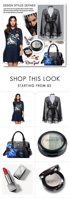 """""""60) ROSEGAL"""" by mirecr7 ❤ liked on Polyvore featuring Burberry"""