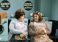Roy was also know as one half of comedy double act Cisse and Ada, with Les Dawson British Comedy, British History, Family Memories, Childhood Memories, Coronation Street Actors, Les Dawson, Peter Kay, Classic Comedies, Vintage Tv