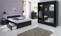 Schlafzimmer Linus I mit 140er Bett Die Auswahl der Farbe ist bei diesem Schlafzimmer - Programm reine Geschmackssache. Beide Farben, Kaffee oder Weiß, können sich problemlos jeder kreativen...