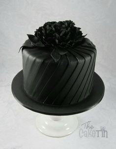 Black cake | just in time for Halloween