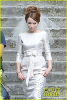 tom hardy emily browning get married for legend 04 Tom Hardy and Emily Browning get into their finest clothes to film a wedding scene for their upcoming movie Legend on Friday (June 13) in London, England.    The…