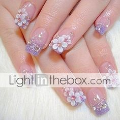 3D Acrylic Nail Art Designs | processing time ships in 24 hours processing time is guaranteed to be ...