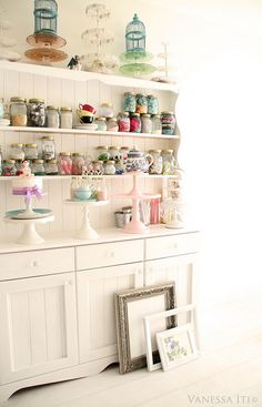 Oh, so fresh & sweet... Nice for kitchen, but would also be great for any kind of hobby room too.
