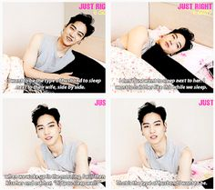Jaebum's future wife is the luckiest person in the world