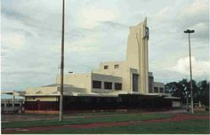 Estação Ferroviária, Goiânia, Brazil. Geraldo Duarte Passos, 1952
