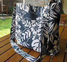 Seashell: Simple Sling Bag Tutorial by HennySeashell