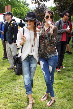 Festival Fashion at Field Trip Festival
