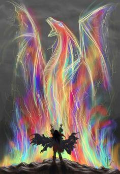 Corra in all of Diana weaver colors Rainbow Dragon.ღ༺༻ღDragonBorn♕ Soul ღ༺༻ღ .༺♨༻ 666☯9998666☯999 ༺♨༻