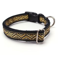Sacred Pet Boutique : Dog Collar - Celtic Gold