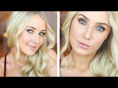 First Day of School Statement Makeup/Hair! - YouTube