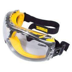 DEWALT Safety Goggles Glasses For Carpenter Explorer Engineer Clear Anti Fog #DEWALT