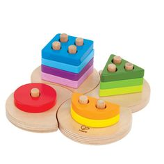 Geometric Sorter by Hape Toys | Play Kids, www.playkidsstore.com