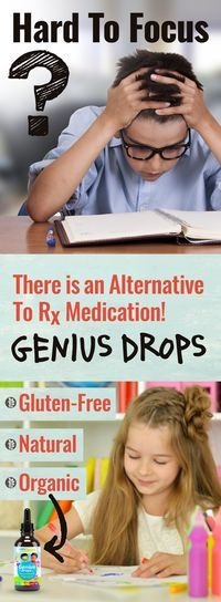 Genius Drops are organic, non-habit forming, gluten and preservative free vitamin drops to help your precious child find improved concentration, focus, and memorization skills. Your kiddo will enjoy a great tasting daily vitamin that helps them excel at school; and you can feel good knowing you're giving them a safe gluten-free supplement that supports their active and healthy brains.