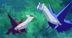 Pokemon latios and latias (might have misspelled them)