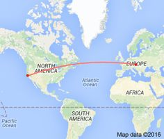 5975 miles from san francisco to vienna - Google Search