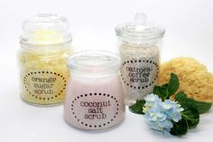 How to Make 3 Homemade DIY Body Scrub Gifts for Mother's Day