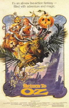 Weirdest movie...  I couldn't get enough of it for some reason as a kid...I was terrified of the original but this one, I hid behind a chair every time I watched it