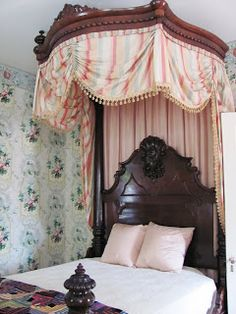Half Tester Bed, Rosedown Plantation, St. Francisville, Louisiana