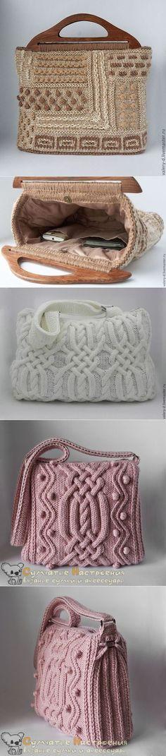 Вязаные сумки мастера Сумчатые