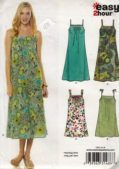 "Breezy Light Sun Dress  - Halter Top Summer Dress - Size 6-16 Bust 30.5-38"" - UNCUT- Sewing Pattern New Look 6778 by Sutlerssundries on Etsy"