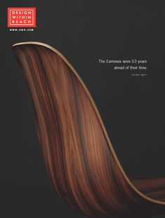 The Eameses were 63 years ahead of their time. Introducing the new Eames Molded Wood Side Chair, designed by Charles and Ray Eames. Colorful Furniture, Unique Furniture, Cheap Furniture, Discount Furniture, Rustic Furniture, Luxury Furniture, Furniture Decor, Furniture Design, Furniture Outlet