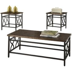 Found it at Wayfair - Hartwick 3 Piece Coffee Table Set