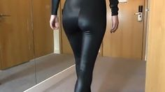 awesome Fashion -Full Body Spandix Leggings With High Heels