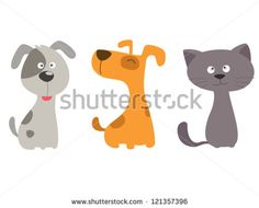 Find Cat Dog stock images in HD and millions of other royalty-free stock photos, illustrations and vectors in the Shutterstock collection. Cute Dog Cartoon, Dog Template, Pet Hotel, Dog Vector, Paws And Claws, Dog Illustration, Illustrations, Cartoon Images, Animals For Kids
