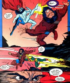Darkseid's son Kalibak saved by the Outsiders