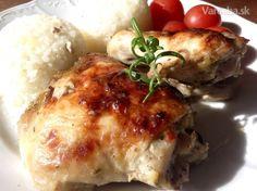 Cesnakovo-bylinkové kura (fotorecept)