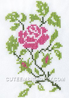 All Free Cross Stitch Charts Free Cross Stitch Charts, Cross Stitch Borders, Cross Stitch Rose, Cross Stitch Flowers, Cross Stitching, Cross Stitch Patterns, Blackwork Embroidery, Folk Embroidery, Custom Embroidery