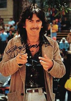 """George Harrison ~ EVERY SINGLE PHOTO OF GEORGE....HE NEVER EVER LOOKS THE SAME!  HE'S DIFFERENT IN EVERY ONE!  OH WOW, HOW I MISS HIM..... """"BUT I'M NOT THE ONLY ONE."""""""