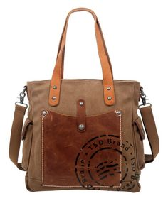 Another great find on #zulily! Brown Super Horse Tote #zulilyfinds