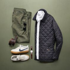 Outfit grid - Quilted jacket