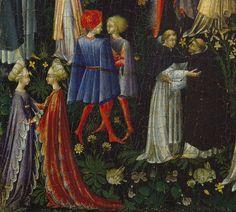 Giovanni di Paolo (Giovanni di Paolo di Grazia): Paradise (predella panel) (06.1046) | Heilbrunn Timeline of Art History | The Metropolitan Museum of Art