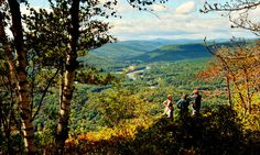 Driving the Mohawk Trail in Massachusetts - NYTimes.com - looking down on the lovely village of Shelburne Falls