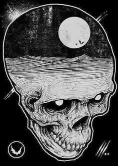 18 artists changing the face of horror Dark Art Style - Reality Worlds Tactical Gear Dark Art Relationship Goals Arte Horror, Horror Art, Horror Drawing, Arte Obscura, Skull Art, Dark Art, Art Inspo, Fantasy Art, Pop Art