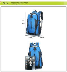 d39b9be5d234 11 Best Men Backpack mochila masculina Waterproof Back Pack Designer ...