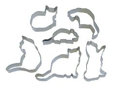 Cat Cookie Cutters | 16 Crazy Cat Lady Gifts