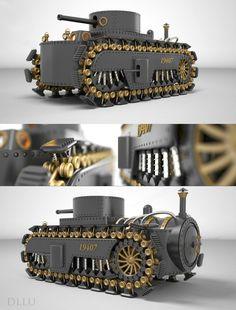 Steampunk - Tank