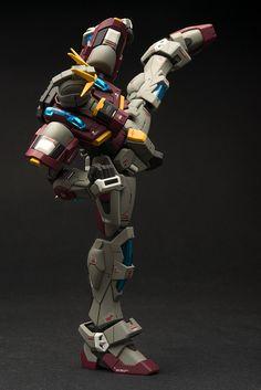 GUNDAM GUY: HGBF 1/144 Try Burining Gundam - Customized Build