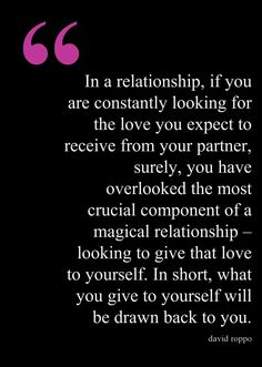 How to reconnect with your partner, restore the intimacy, and transform your relationship into something magical! http://www.davidroppo.com/howtosavearelationship.html