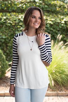 Pink Slate Boutique - Don't Leave Me Behind Top, $29.00…