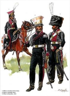 SOLDIERS- Courcelle: NAP- France: French Cavalry, by Patrice Courcelle.