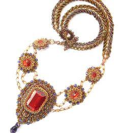 Padmajai's Necklace by Cielo Design, via Flickr