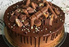 Kefir, Sweets Recipes, Nutella, Mousse, Flora, Food And Drink, Birthday Cake, Baking, Yummy Cakes