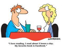 Mijn favoriete boek is Facebook