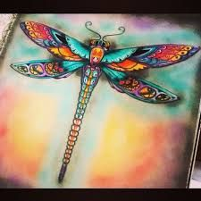 Image result for johanna basford dragonfly