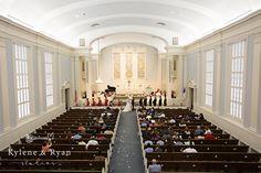 Trinity United Methodist Church / Wedding in Tallahassee, Florida / Kylene and Ryan Studios / Flowers by Milk and Honey / Andrew's Catering / Laura J Artistry, HMUA