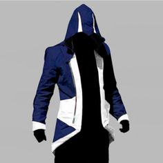 Get ready for something out of the ordinary. There are a lot of garments fans of Assassin's Creed 3 have come to adore and this jacket is one of them. Wearing an Assassin Creed jacket is a great way to meet new people because it is a real conversation starter. The white leather contrasted with th...